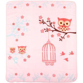 Cobertor-Fleece-Corujinha-Rosa