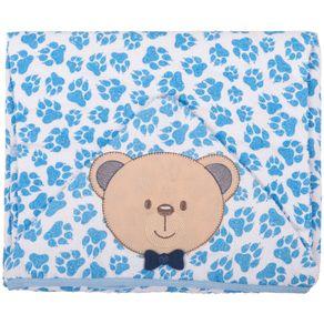 Toalha-Bichinhos-Ursinho-Azul