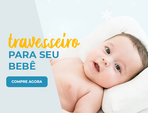 banner travesseiro bebê