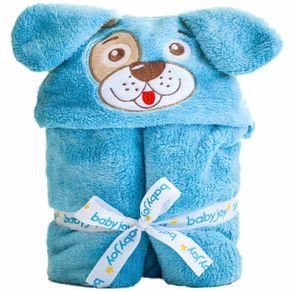 manta-com-capuz-microfibra-liso-bordado-cachorrinho-azul