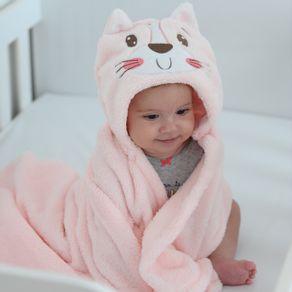 manta-microfibra-infantil-com-capuz-gatinha-rosa-baby-joy